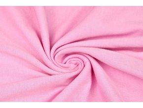 Bavlnený jednostranný úplet svetloružový 100% bavlna 130 g