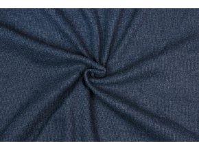 Patent rebrovaný jeans melír 2 / 2