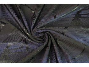 Plavkovina čierna s fialovým efektom