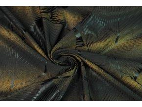 Plavkovina čierna so zlatým efektom