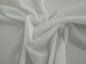 Podšívka elastická bílá