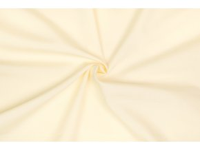 Popelín žltý svetlý