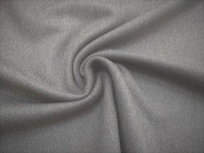 Tkanina elastická stredne sivý melír