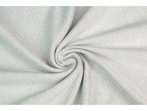 Jednostranný úplet tencel modal - svetlý sivý