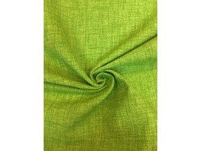 Bavlna režná jasná zelená