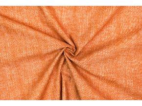 Bavlnené plátno ryšavý melír