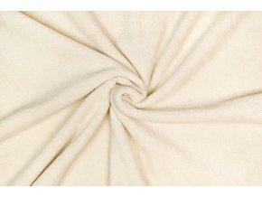 Froté prírodná farba 100% bio bavlna 260 g / m2