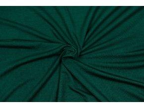 Jednostranný úplet tencel modal - lahvově zelená