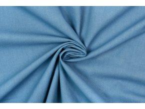 Bavlnené plátno oceľovo modrá