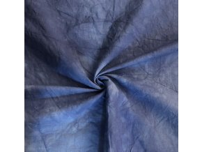 Ľanová tkanina modrá