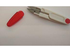 Nožnice plastové odstrihovacie s krytom