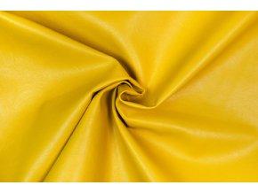 Koženka odevná žltá