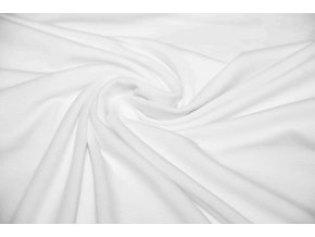 Bambusový úplet biely 200 g / m2