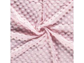 Minky ružové svetlé