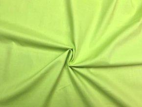 Bavlnené plátno kiwi