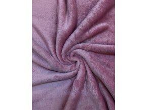 Flanel fleece svetlá lila