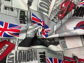 Bavlna režná Londýn