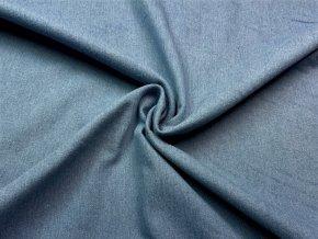 Rifľovina stredne modrá 255 g/m2