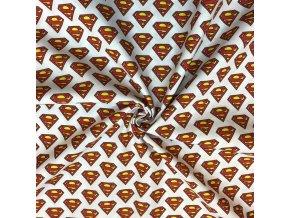 Bavlnené plátno Superman digi tlač