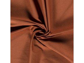 Viskózová tkanina bengalino hrdzavá
