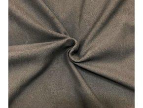 Bavlnený úplet vysokogramážny jeans - farba tmavosivá