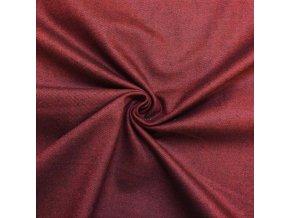 Riflovina elastická bordová