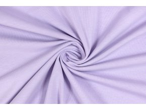 Teplákovina elastická lila 240 g