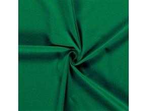 BIO jednostranný bavlnený úplet zelený 200 g/m2