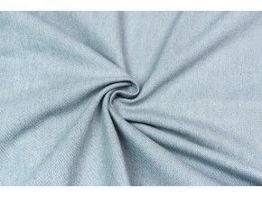 Rifľovina 100 % bavlna - bledomodrá