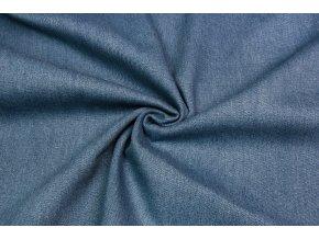 Rifľovina 100% bavlna - svetlá modrá