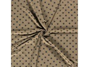 Teplákovina hviezdy na khaki
