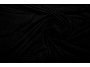 Bambusový úplet čierny 225 g/m2