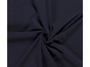 Bavlnený úplet 240 g modrá navy