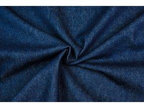 Rifľovina 100 % bavlna - modrá