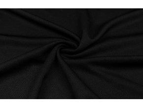Športový úplet piké 100% polyester - čierny