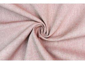 Bavlna režná svetlý tehlový melír