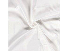 Silky satén biely