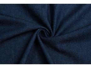 Rifľovina stredne modrá 100% bavlna