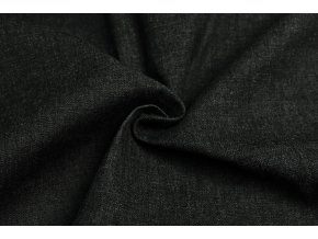 Rifľovina tenšia strečová čierny melír