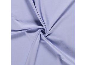 Bavlnený úplet 240 g fialovomodrá svetlá