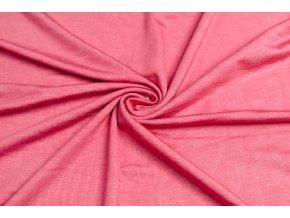 Bambusový úplet pastelová ružová