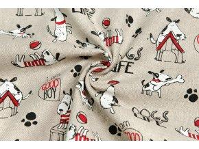 Bavlna režná psí život