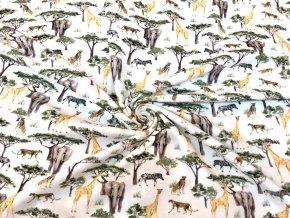 Bavlnený úplet safari