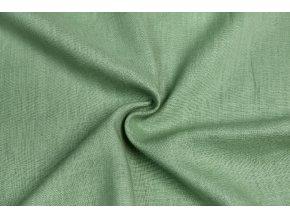 Ľanová tkanina svetlučké khaki