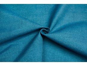 Bavlna režná stredne modrý melír