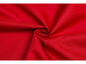 Kočíkovina oxford - jasná červená