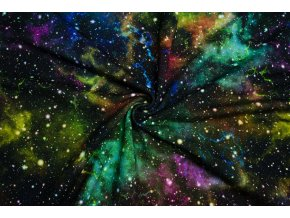 Teplákovina farebná galaxia