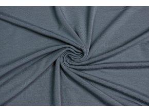 Bambusový úplet tmavší sivý 210 g/m2
