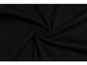 Náplet čierny rebrovaný 430 g/m2 - 2/2