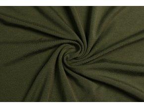 Bambusový úplet khaki 210 g/m2